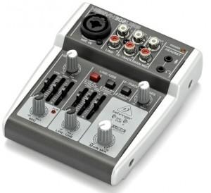 behringer xenyx 302usb content creator soundcard mixer head4space. Black Bedroom Furniture Sets. Home Design Ideas
