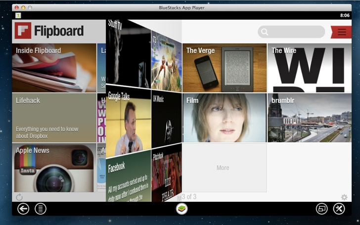 Install Flipboard on Mac or PC
