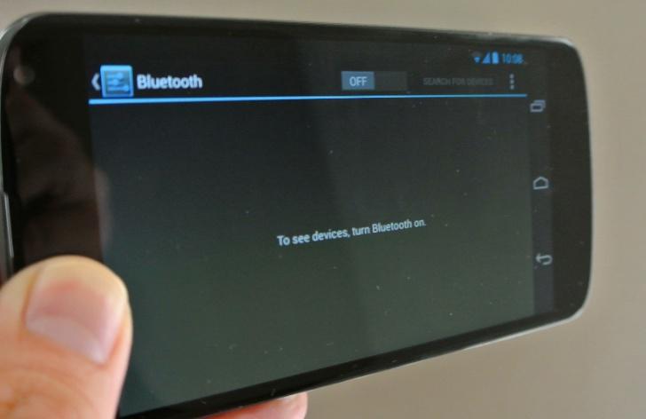 Nexus 4 Bluetooth