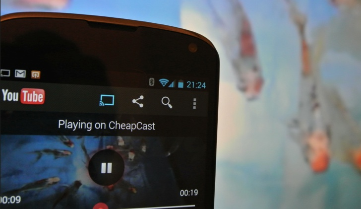 Running Cheapcast on Android Mini PC - Chromecast Competition