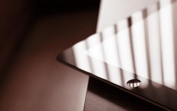 Corner of iPad
