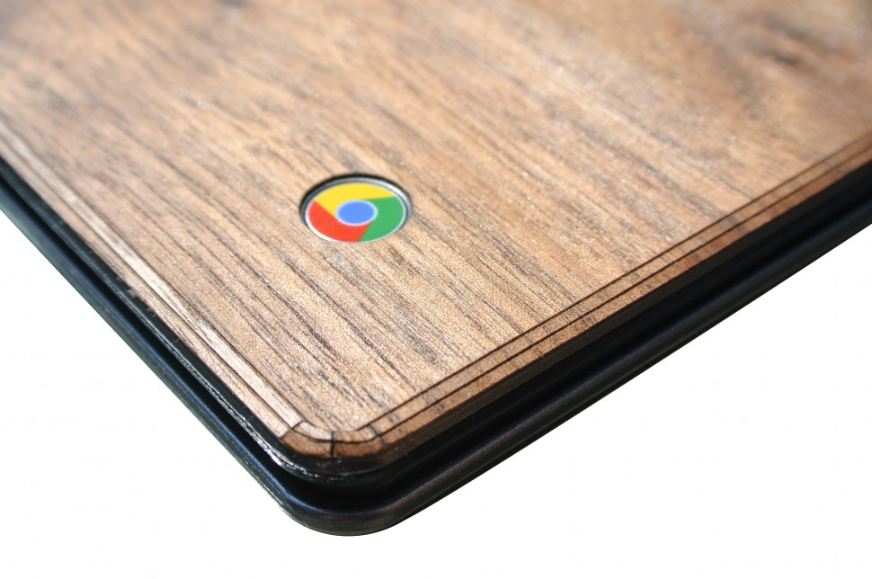 Wooden Chromebook