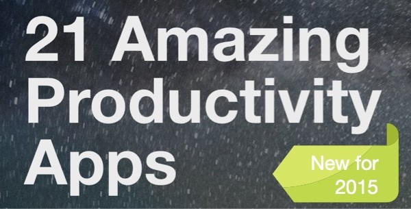 21 Amazing Productivity Apps eBook 2015