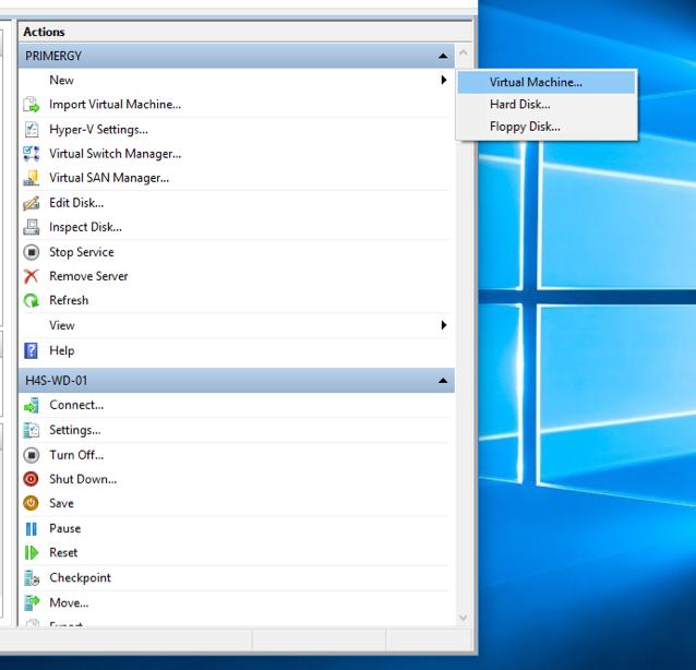 Installing Hyper-V on Windows 10 Pro 10