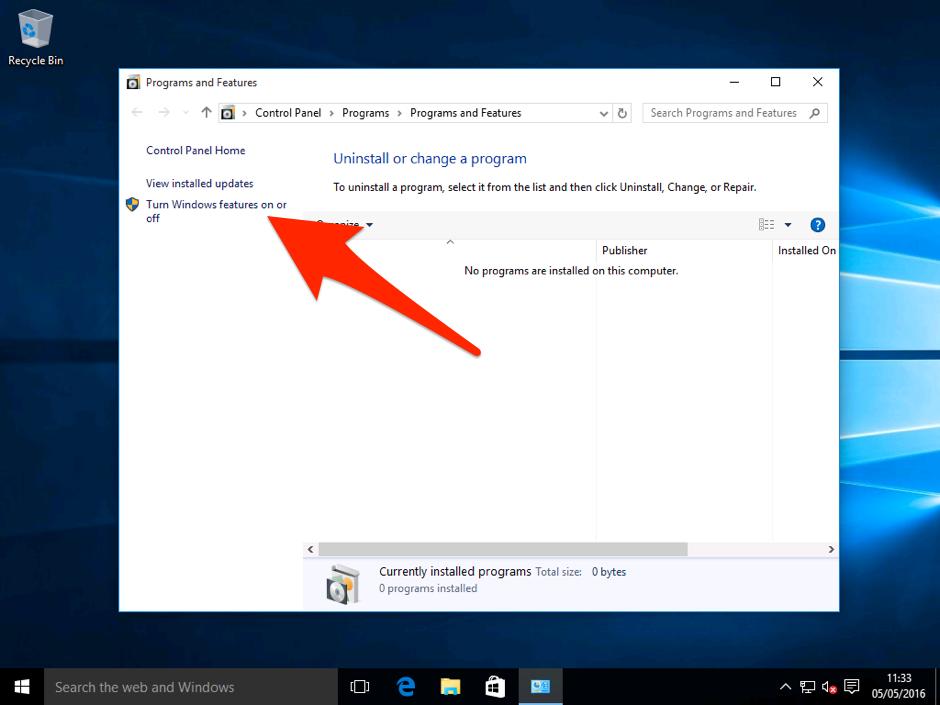 Installing Hyper-V on Windows 10 Pro 3