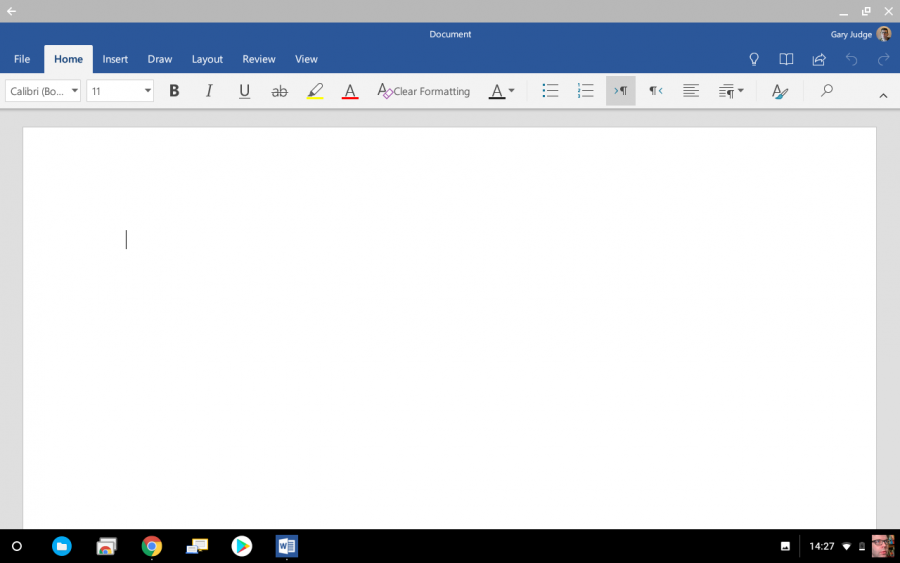 Chromebook Productivity - Start Using Word
