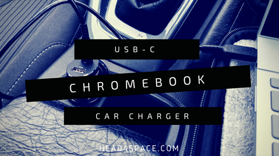 USB-C Chromebook Car Charger