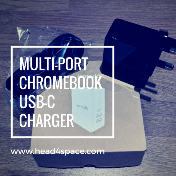 Multi-port Chromebook USB-C Charger