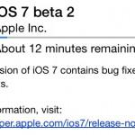 iOS 7 beta 2